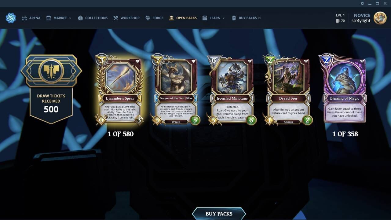 Gods Unchained screenshot