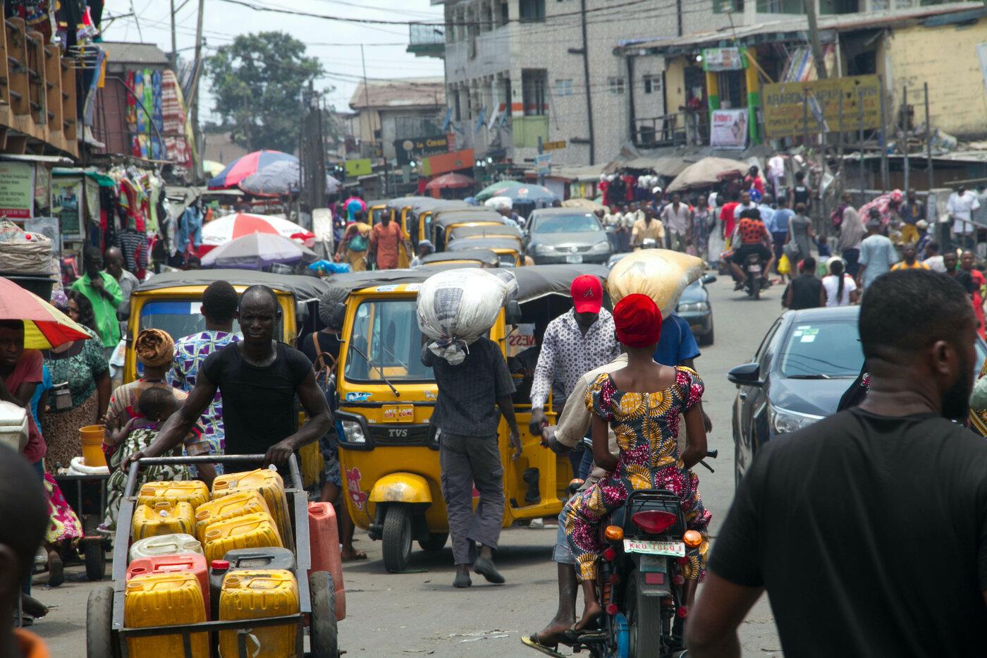 Lagos, Nigeria, Trade