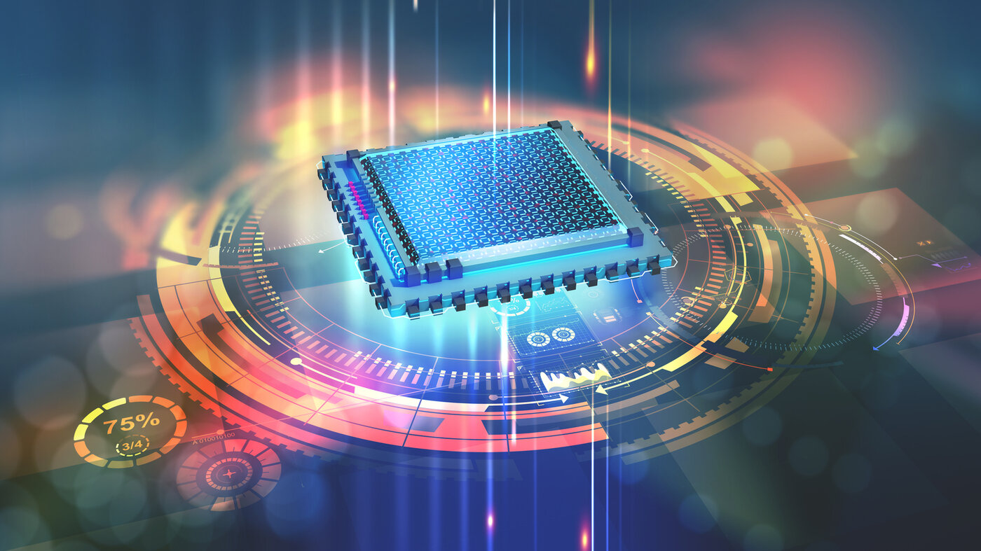 Quantum processor in the global computer network
