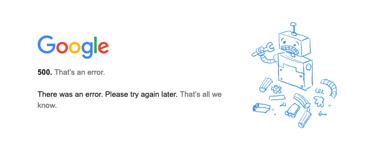 Google suffers outage