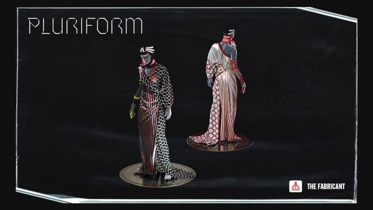 Atari Pluriform dress