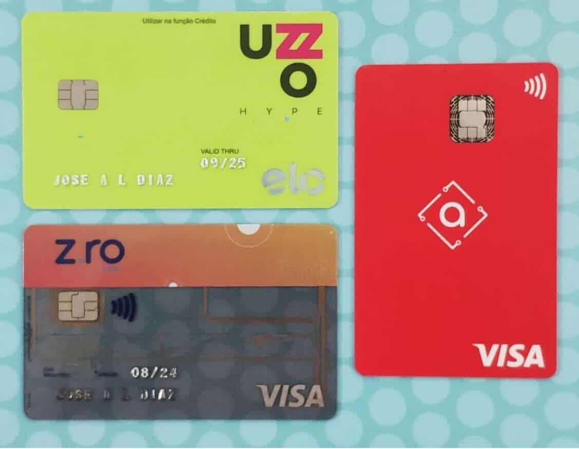 Las tarjetas de crédito de Uzzo, Zro y Alter se pueden recargar con Bitcoin. Imagen: Decrypt
