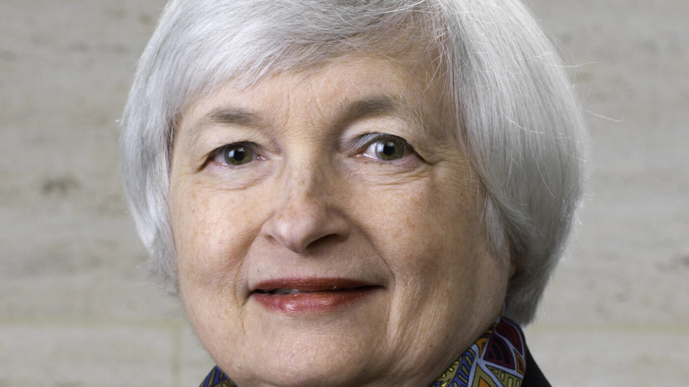 Janet Yellen Federal Reserve headshot