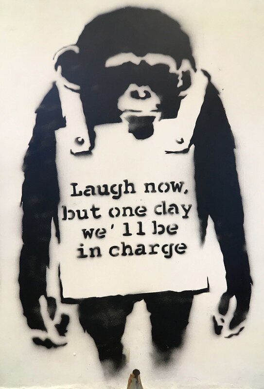 Banksy Laugh Now