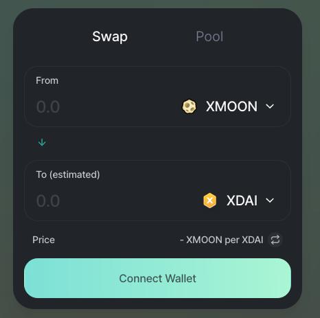 HoneSwap runs on xDai
