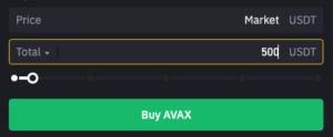 Buy AVAX