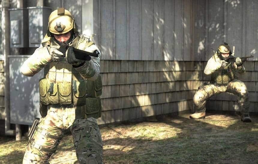 Captura del juego Counter Strike
