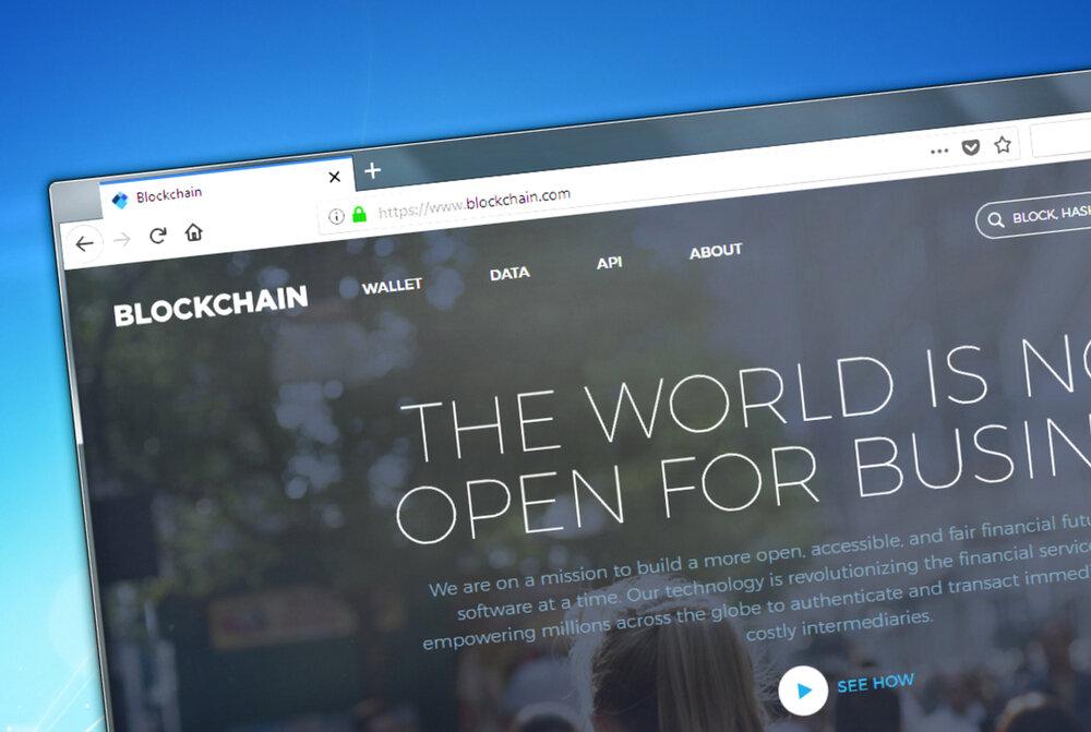 Blockchian.com's Bitcoin website