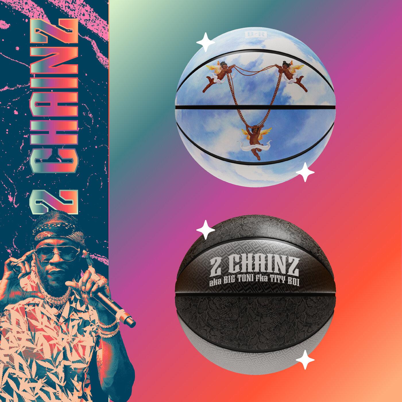 a digital basketball NFT from 2 Chainz