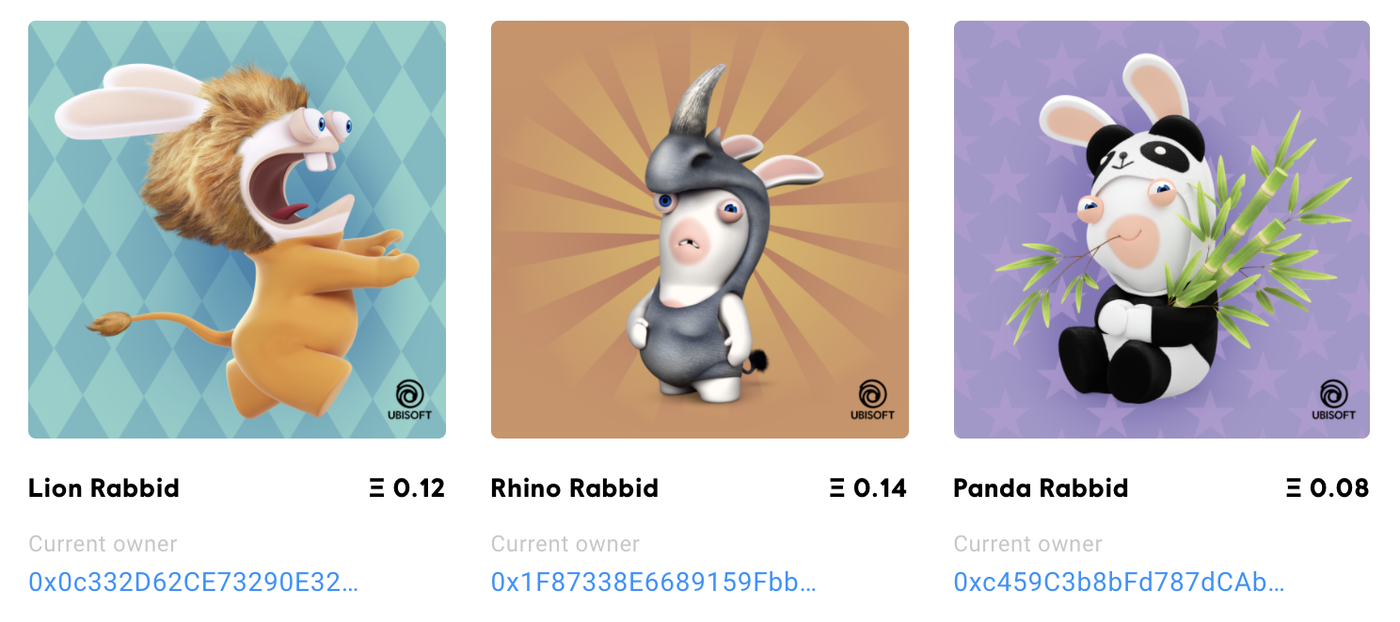 Rabbids Token screenshot