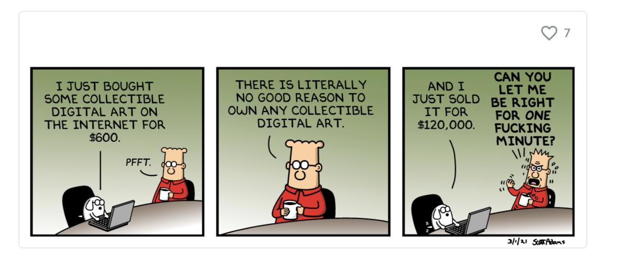 Dilbert NFT