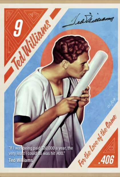 NFT image of Ted Williams