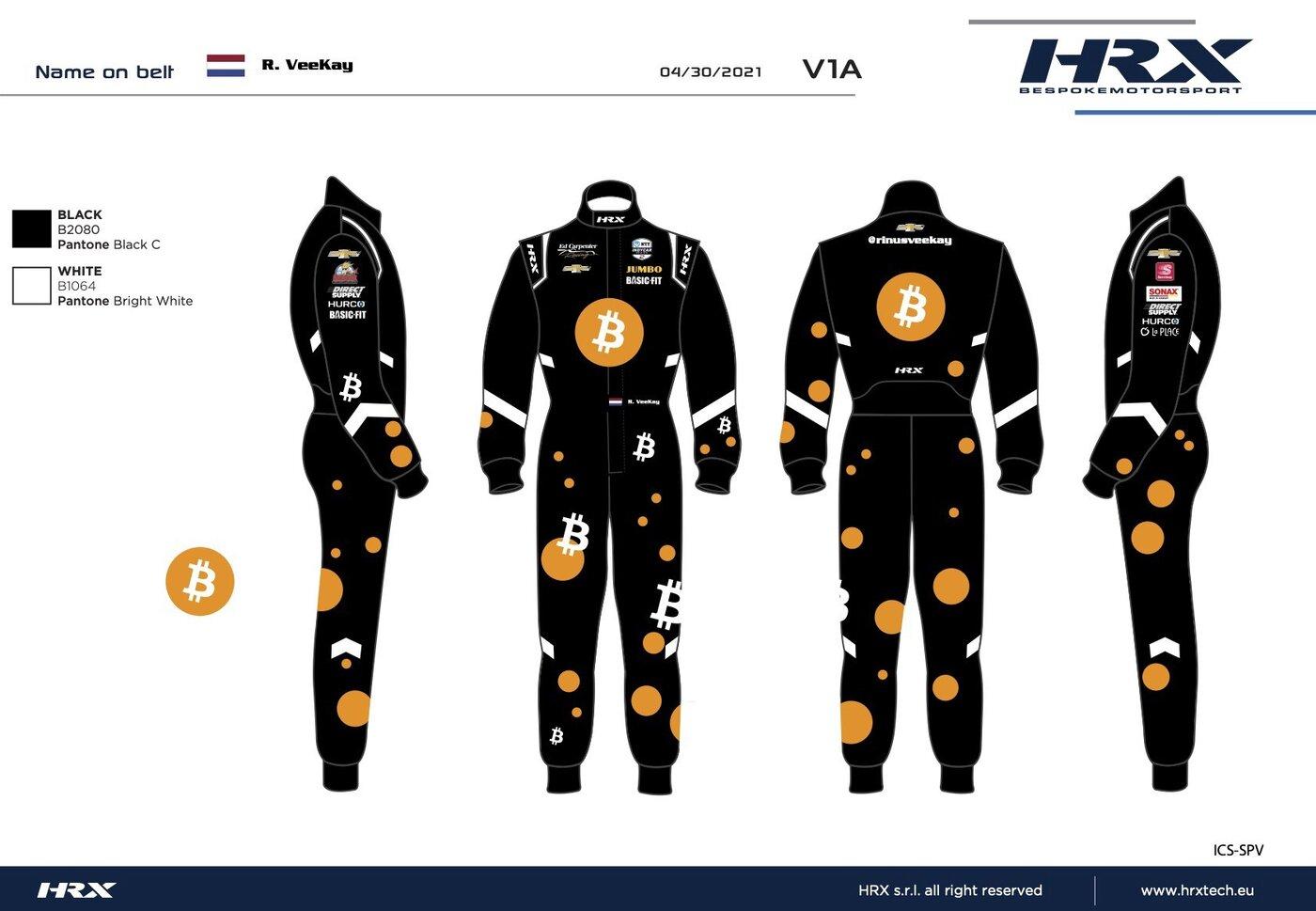 A blueprint for a driver's uniform