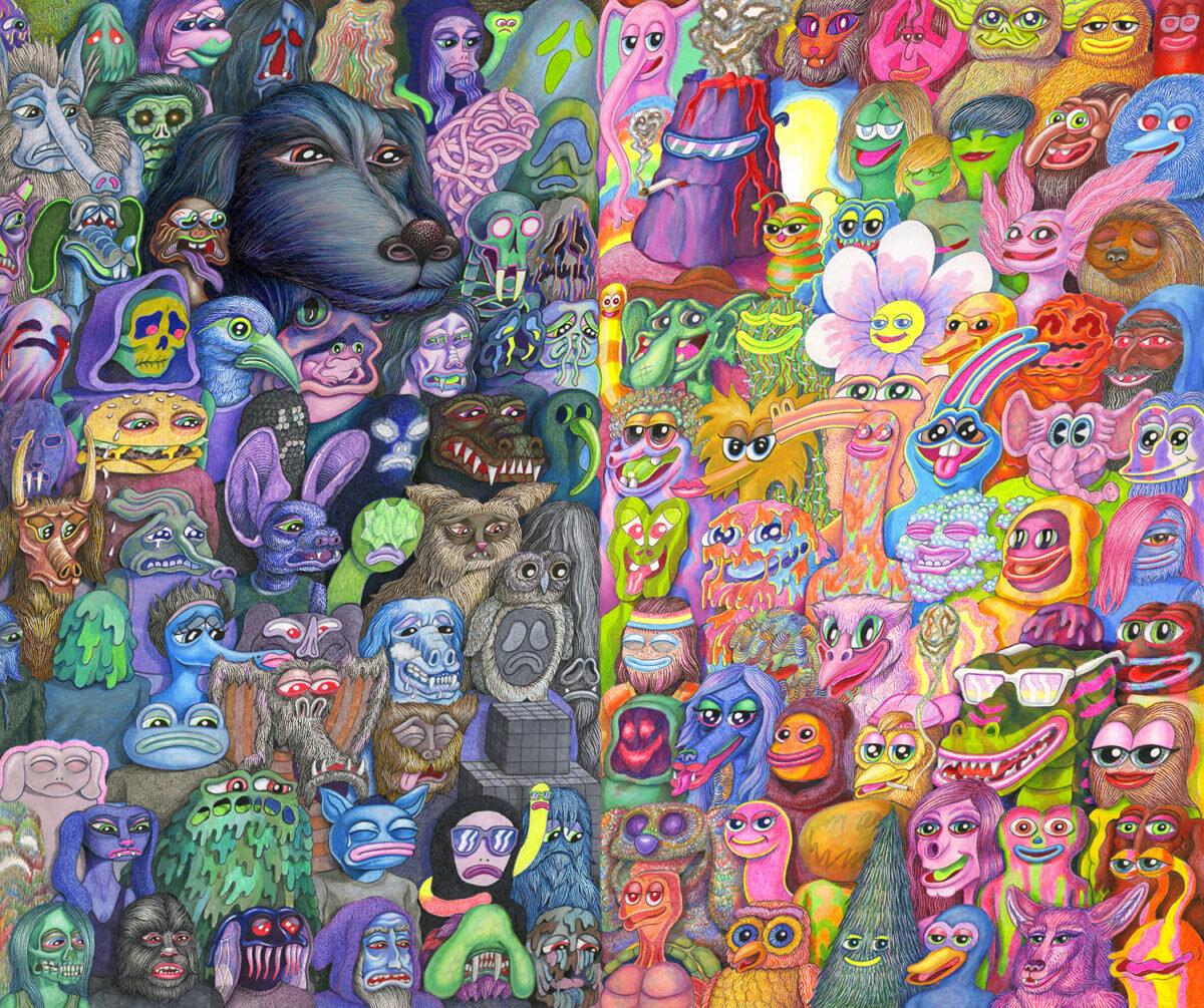Matt Furie creatures