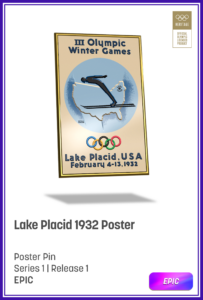 A digital card from Olympic Winter Games in 1932