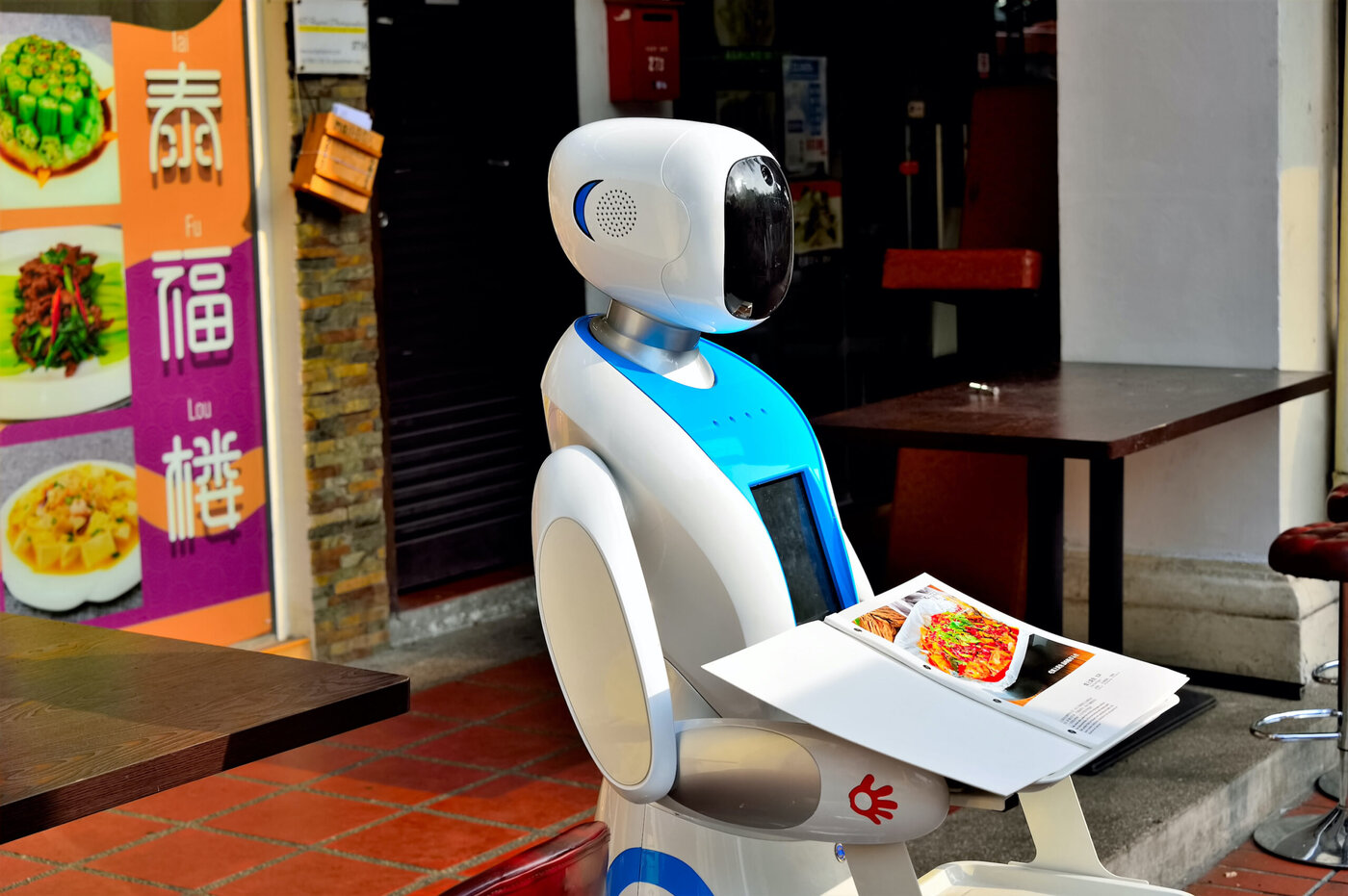 Roboter aus Singapur