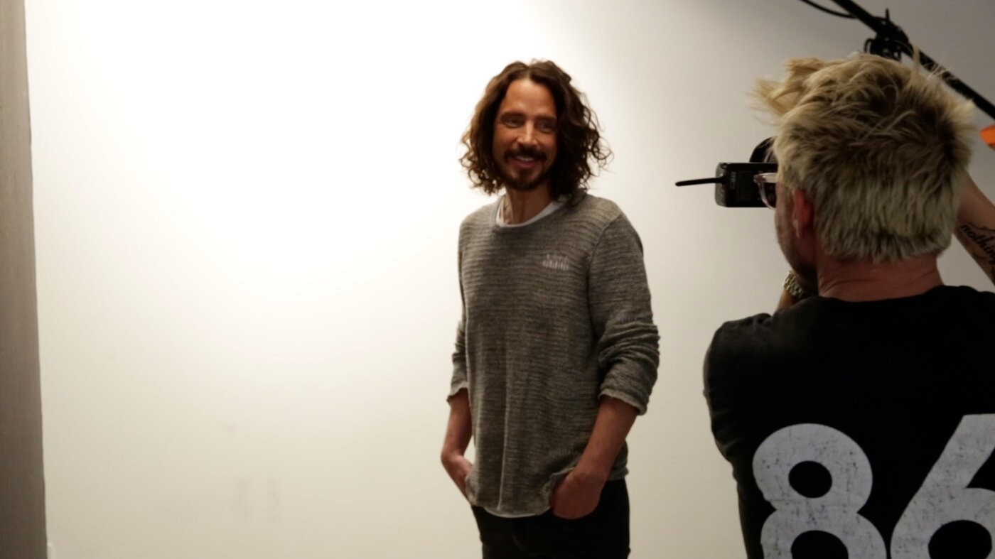 """Chris Cornell """"The Last Session,"""" by the photographer Randall Slavin."""