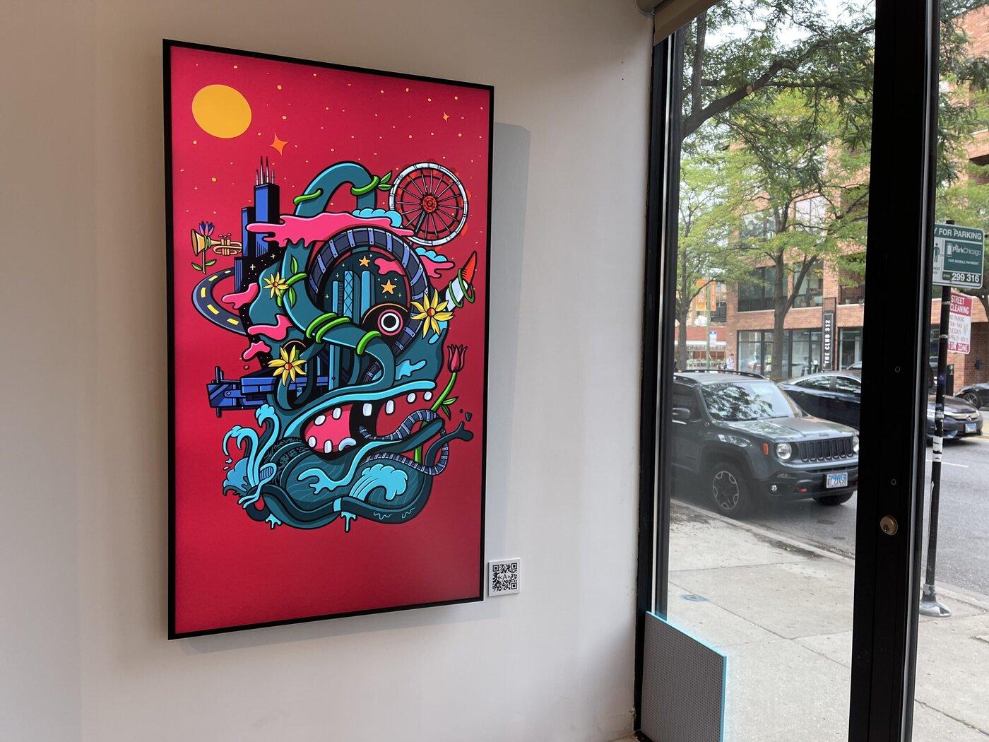 Chicago's imnotArt NFT gallery