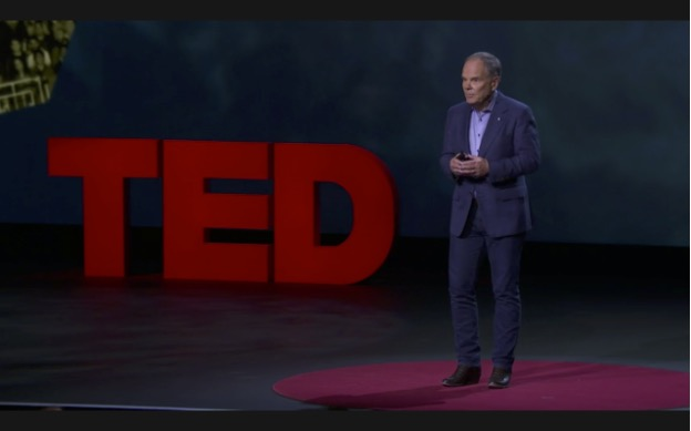 Don Tapscott explains blockchain from the TED stage