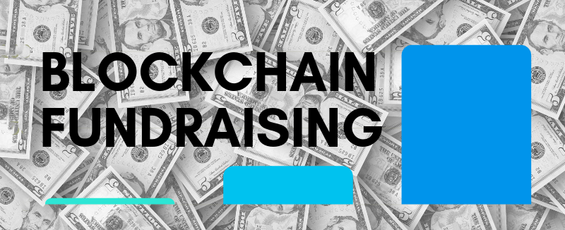 blockchain fundraising data chart