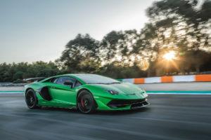 The limited edition Aventador SVJ. IMAGE: Lamborghini