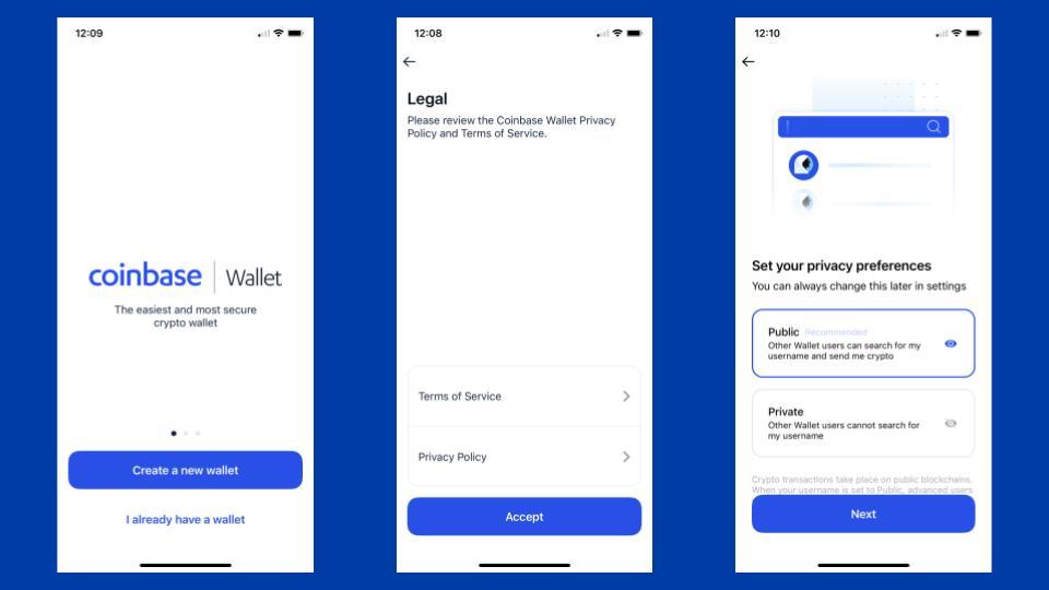 coinbase to coinbase wallet