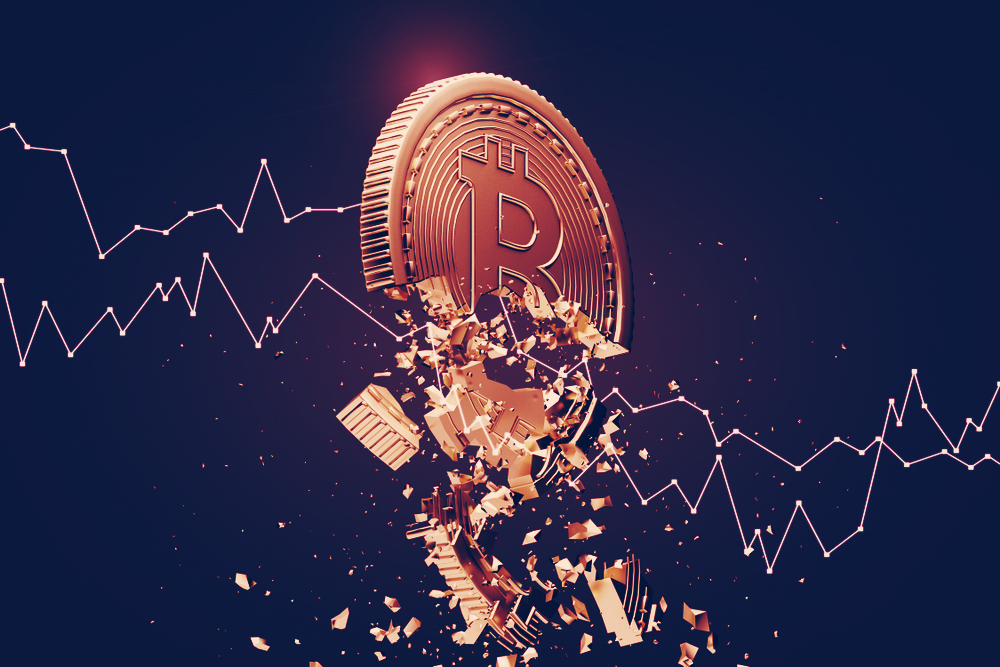 Crypto Market in Freefall: Bitcoin Down 30%, Ethereum Down 38%
