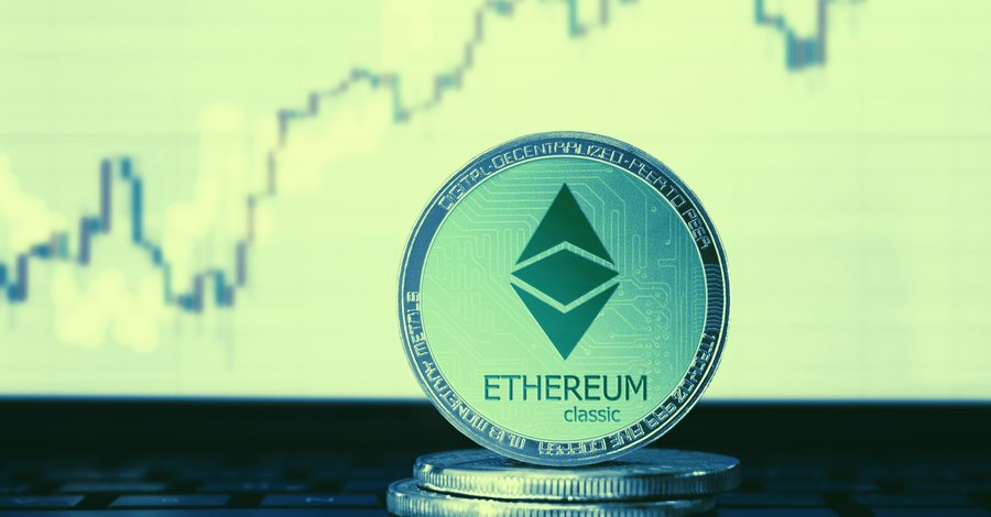 Ethereum Classic price is the highest it's been in over a year