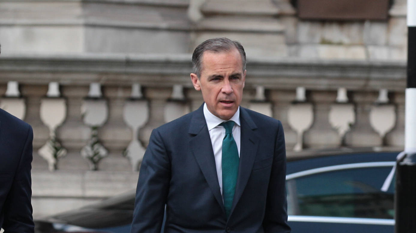 Bank of England governor casts a shadow on next recession