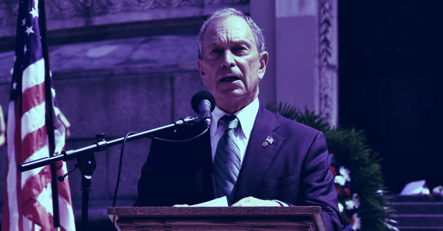 Presidential candidate Bloomberg targets crypto in financial reform plan - Decrypt