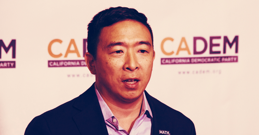 Bitcoin backer Andrew Yang ends his presidential campaign