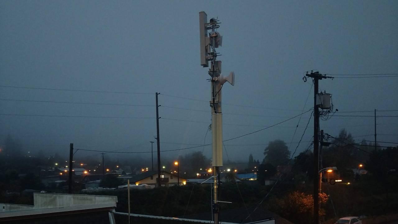 Althea Clatskanie Gateway mast