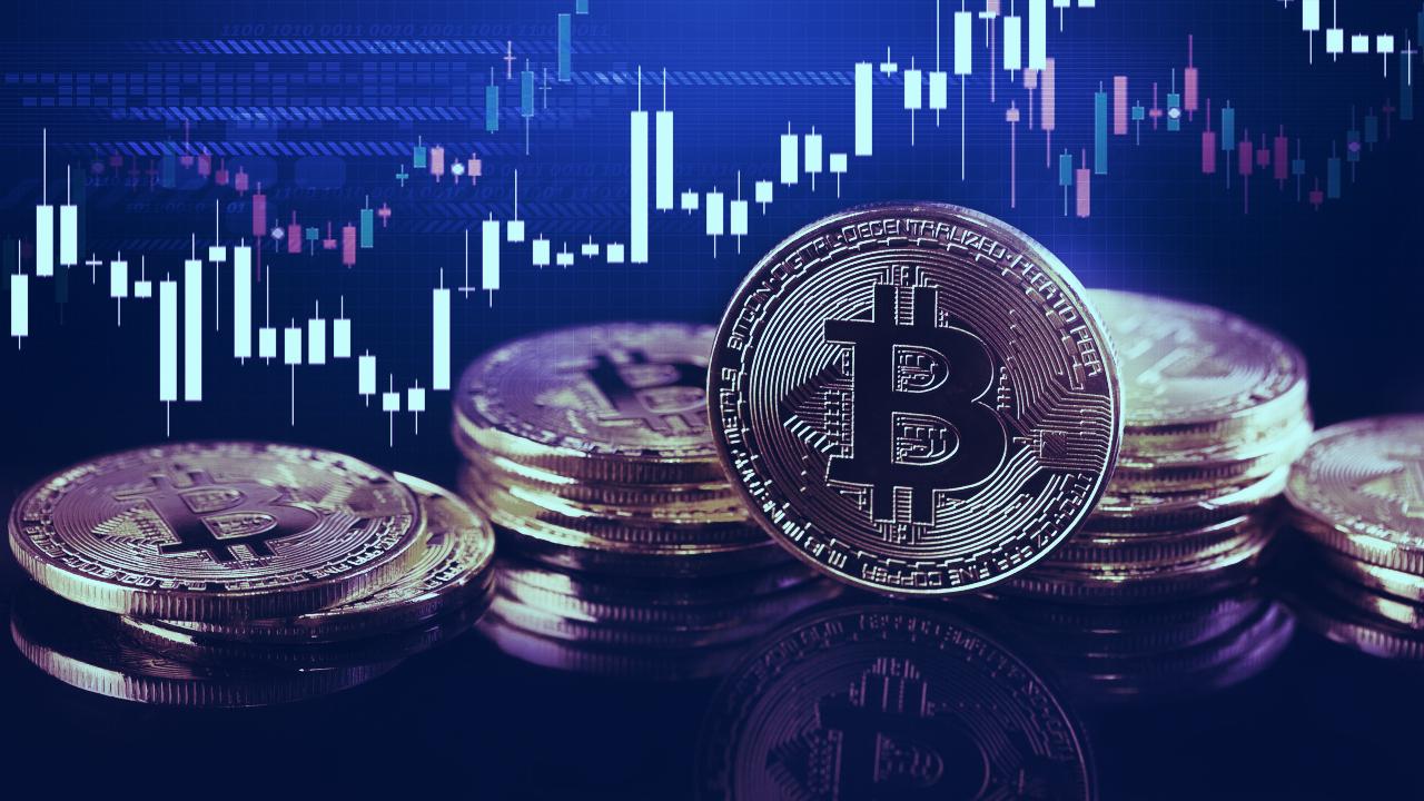 bitcoin market aperto e ravvicinata)