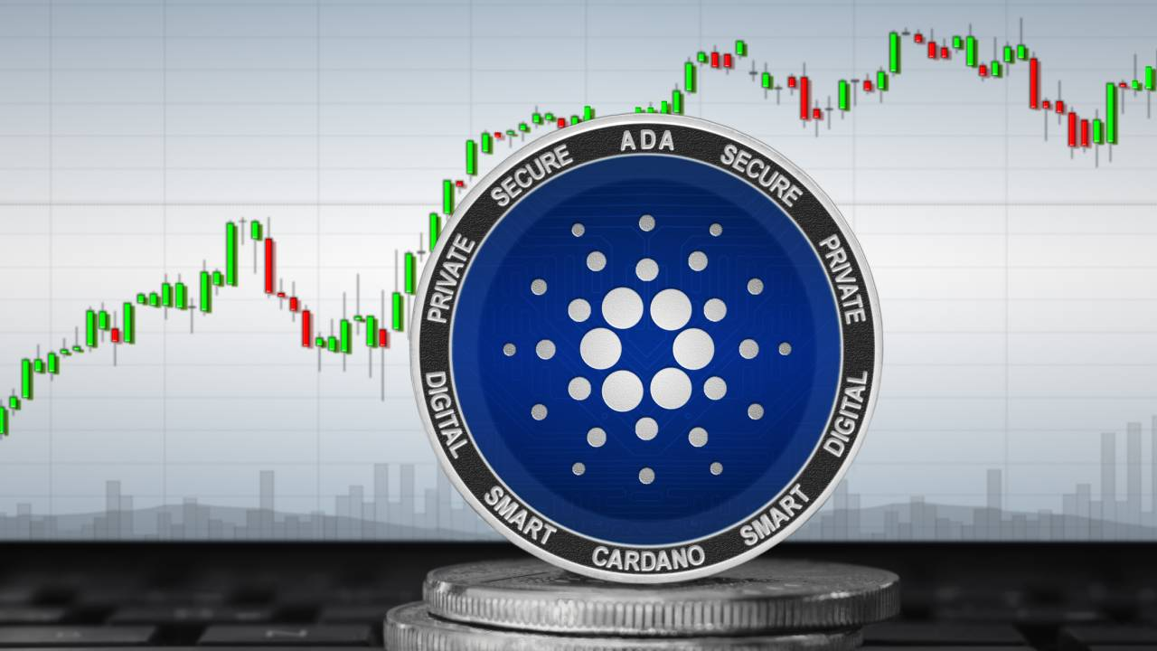 Cardano coin and price chart