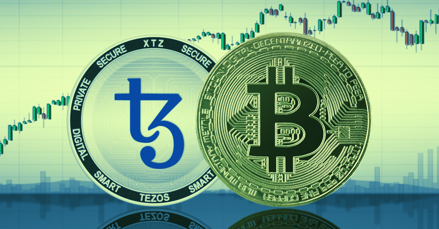 Tezos, Chainlink lead today's crypto market surge
