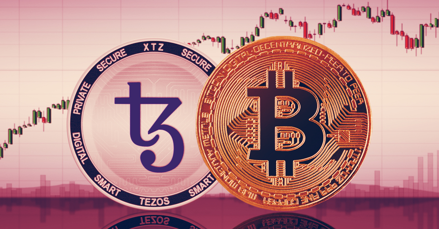 Tezos price dips 6%, but it's still up almost double since March