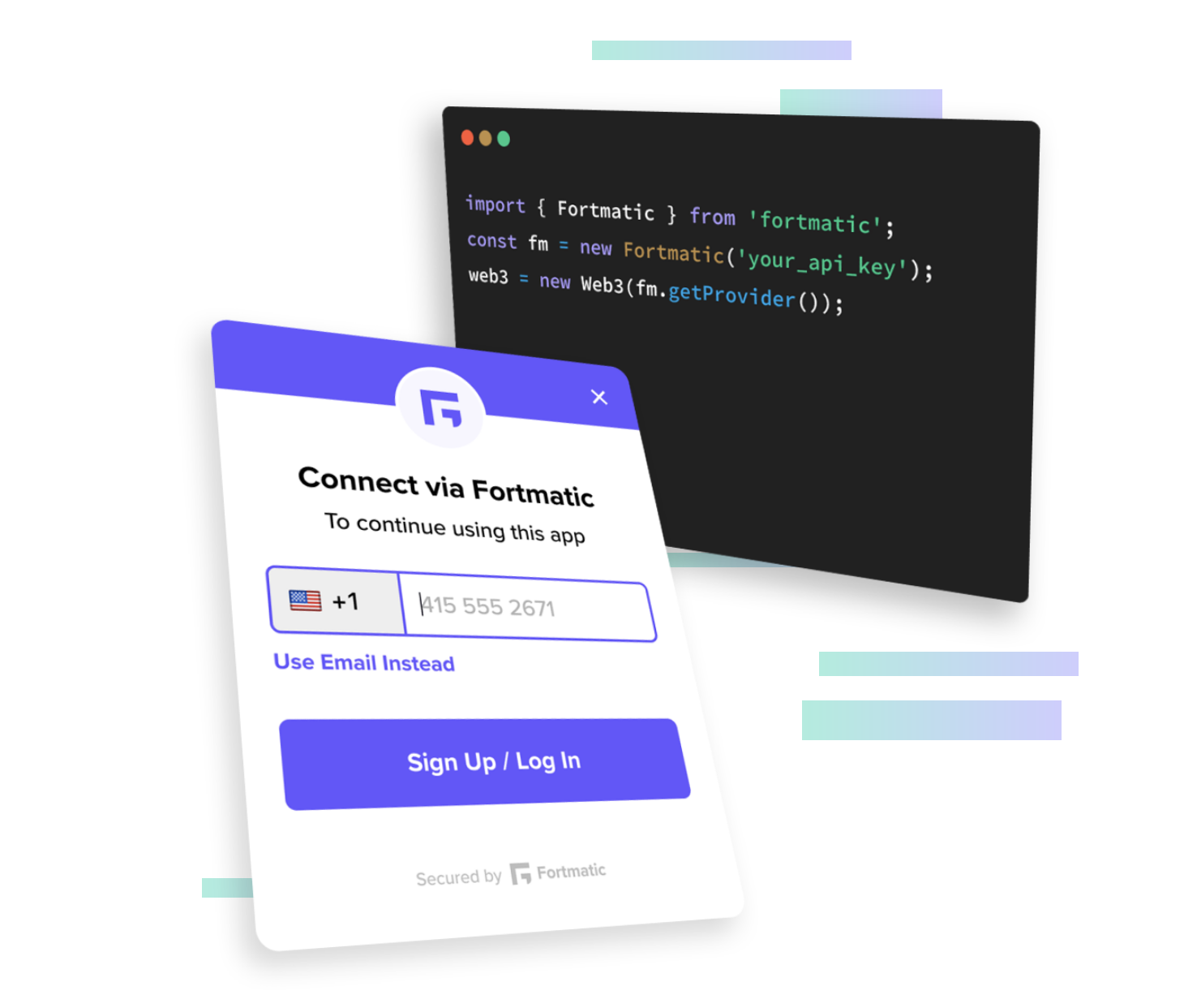 Fortmatic lets you sign into dapps
