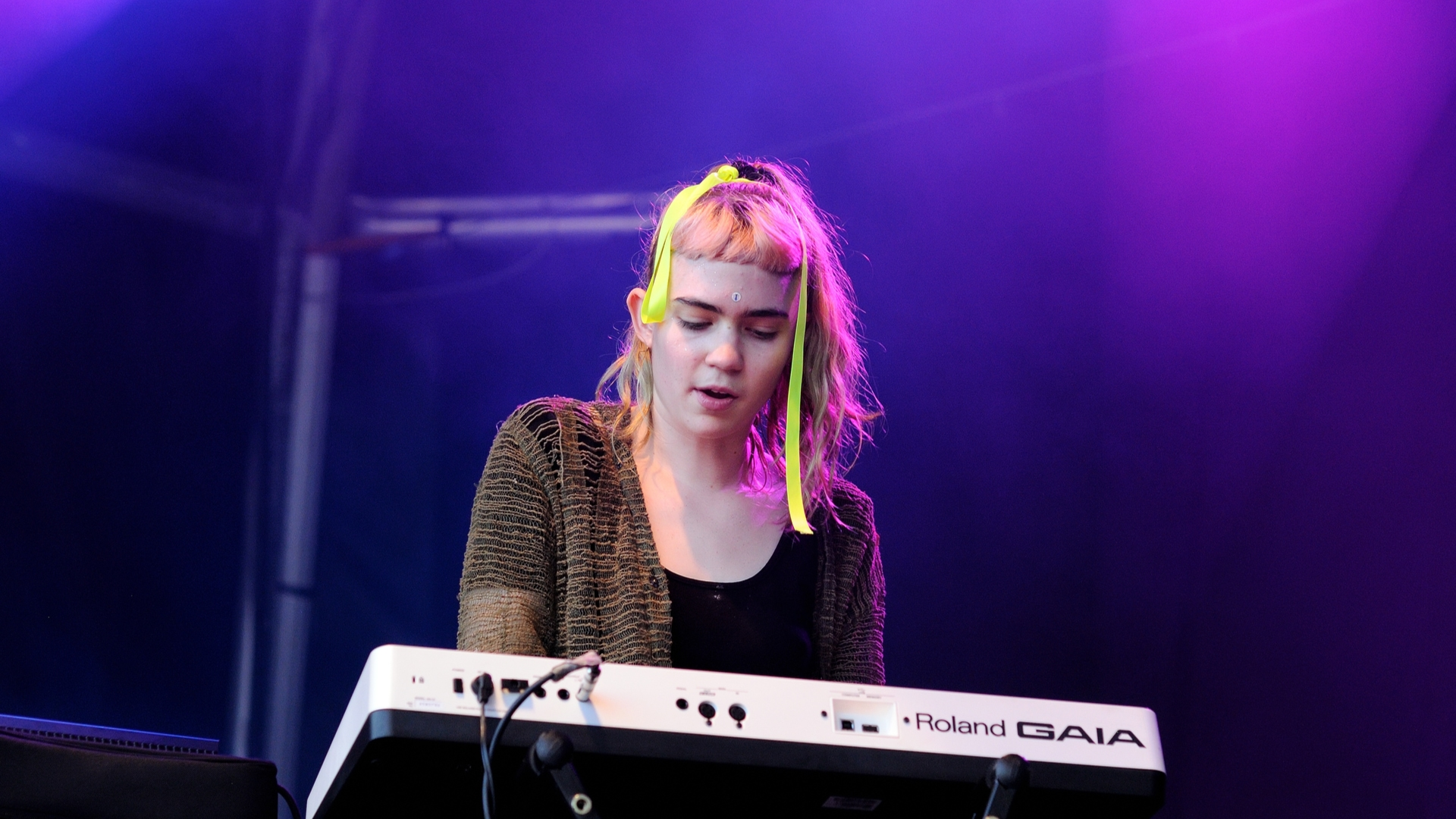 Grimes sells her soul for art