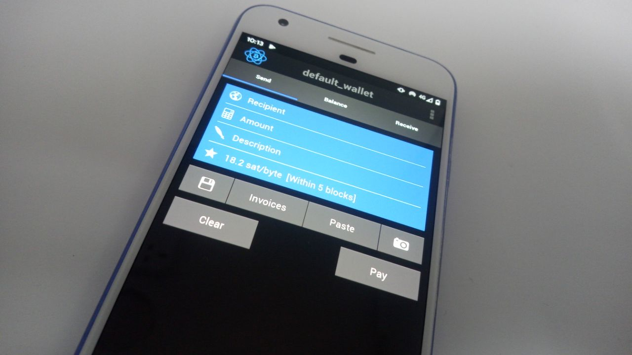 Electrum wallet review: Features