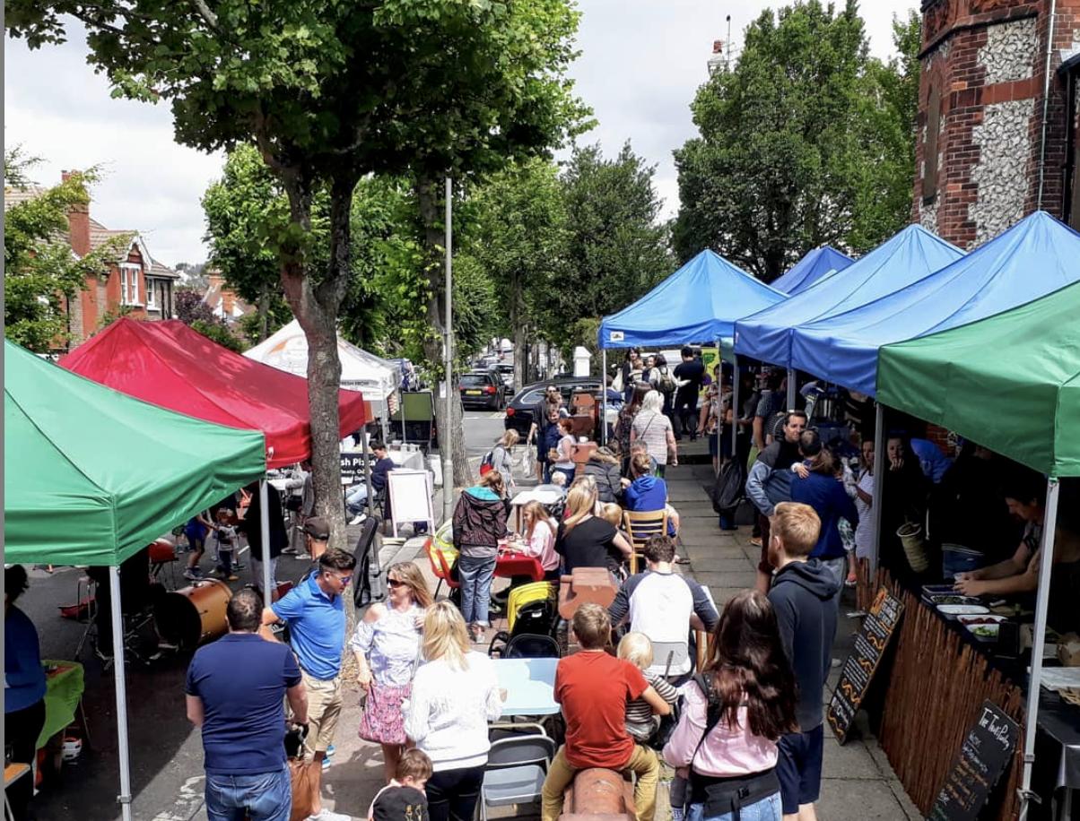 Florence Road Market, Brighton