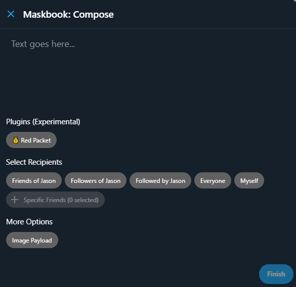 red packet screenshot