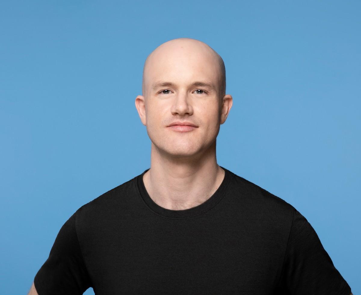Brian Armstrong, CEO de Coinbase. Imagen: Coinbase