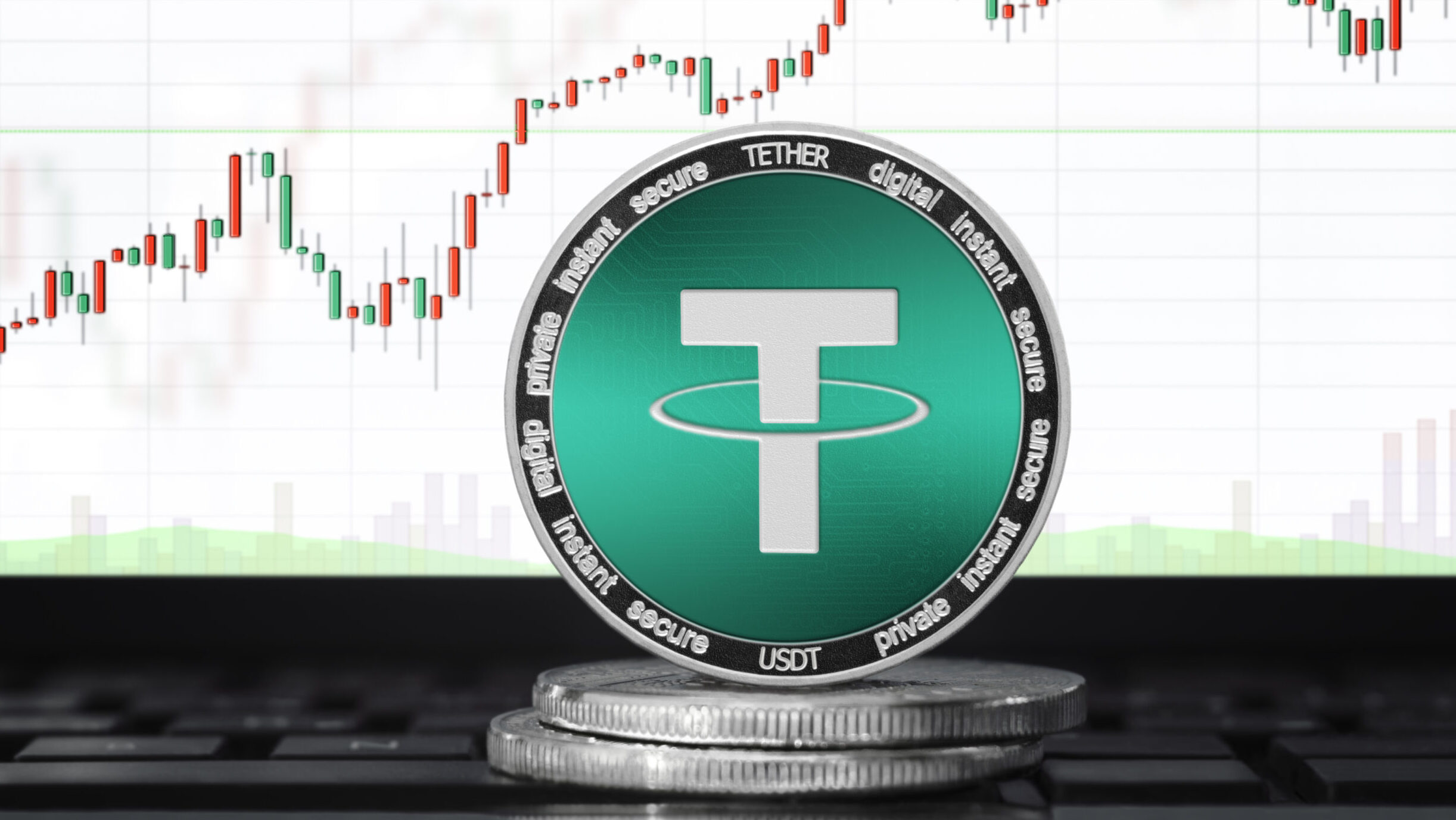 Tether market cap increases above $12 billion