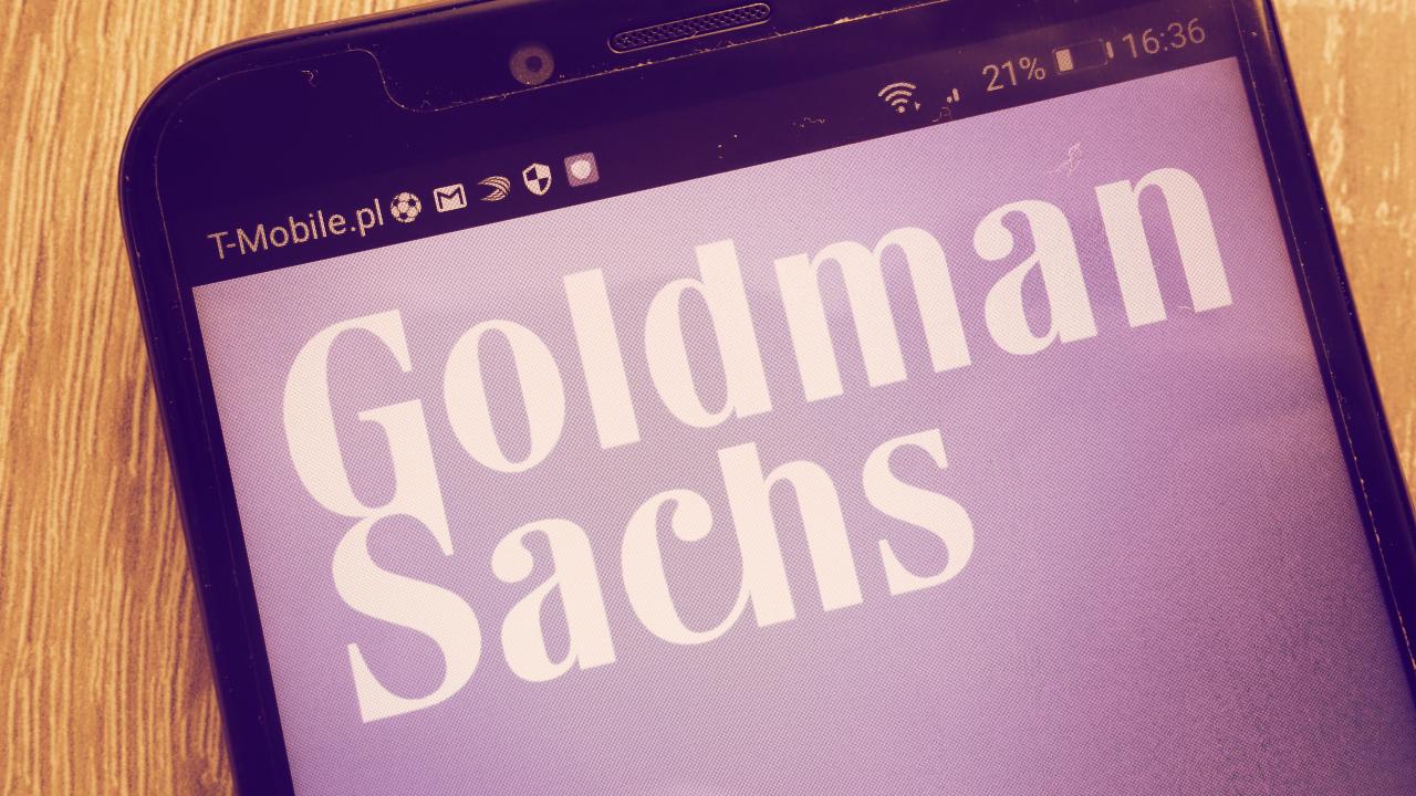 Goldman Sachs Plans to Start Trading Ethereum Options, Futures