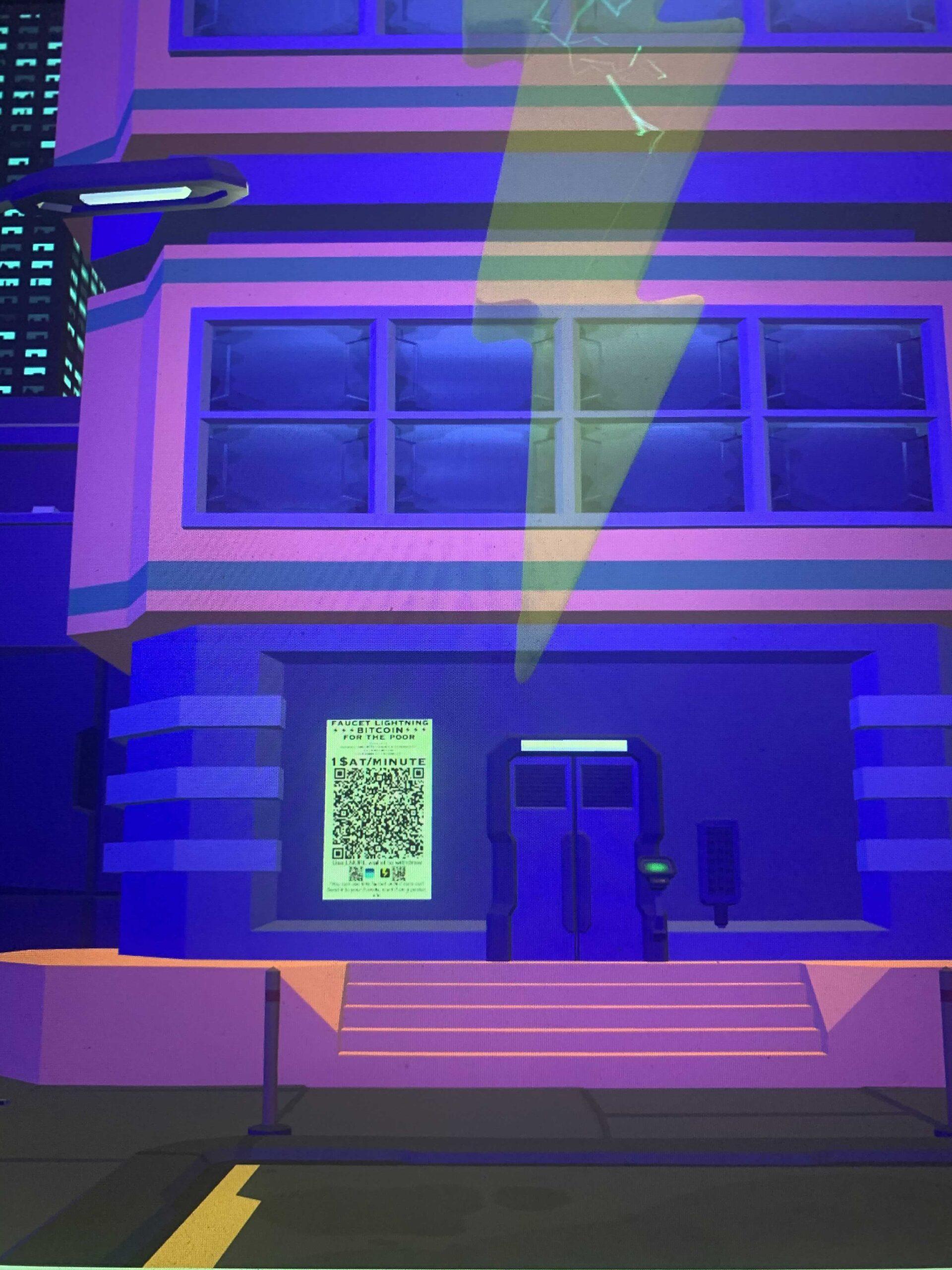 Bitcoin Cyber City building
