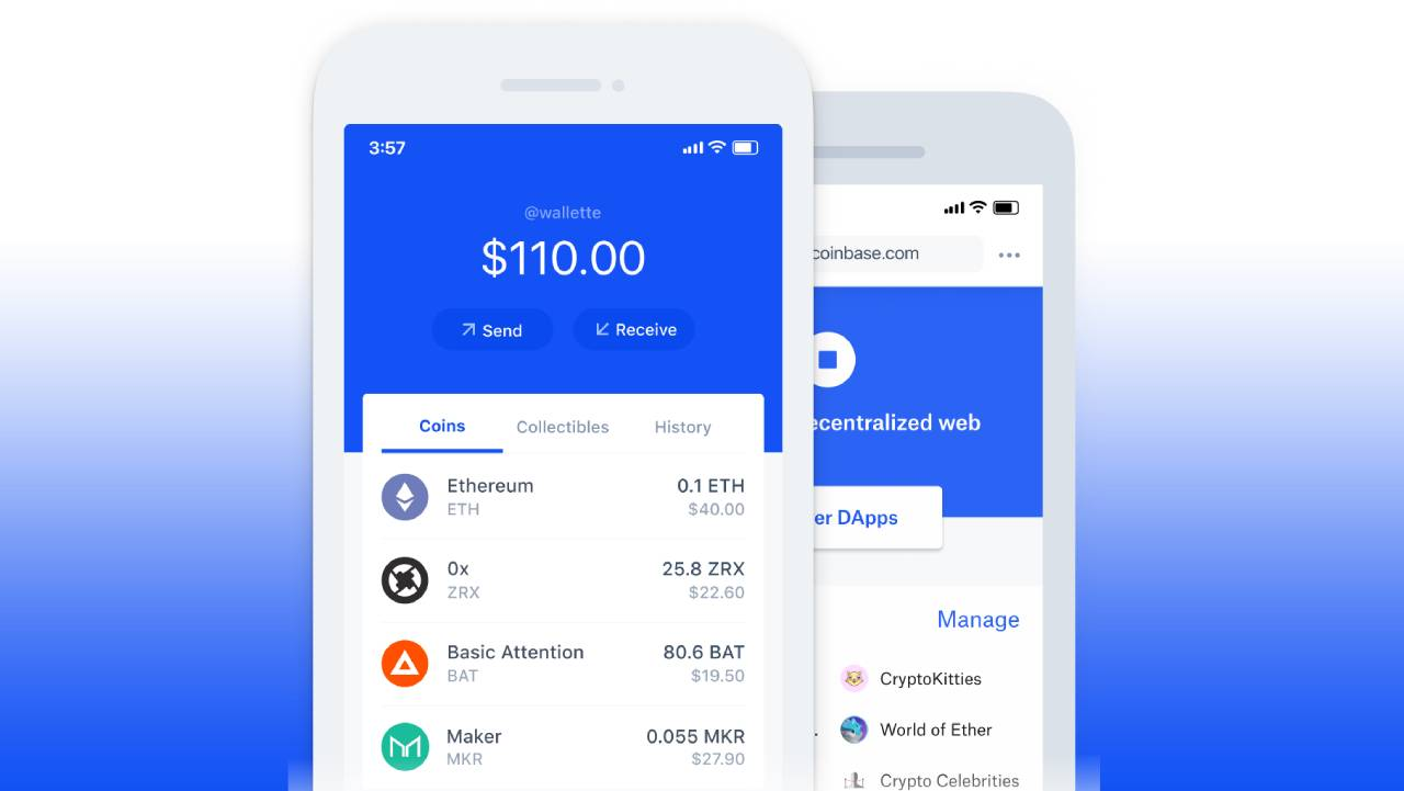 Coinbase Wallet screenshot