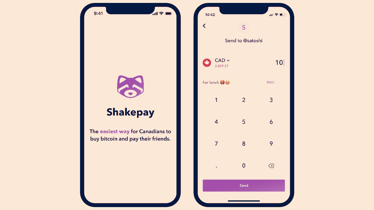 A CashApp for Canada: Bitcoin App ShakePay Adds P2P Payments - Decrypt