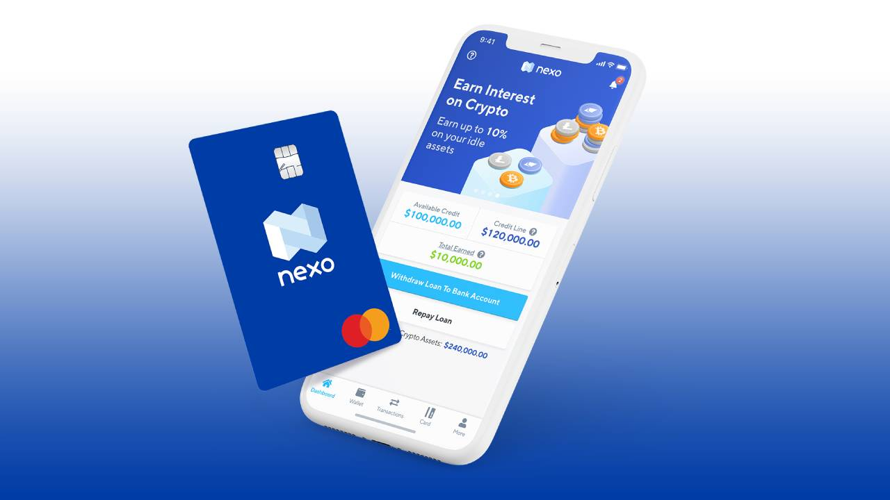 Nexo card and app