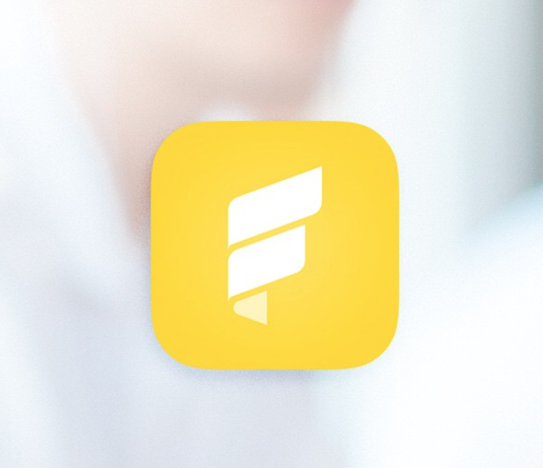 Fold app icon for iOS