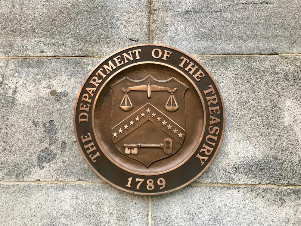 US Dept of Treasury